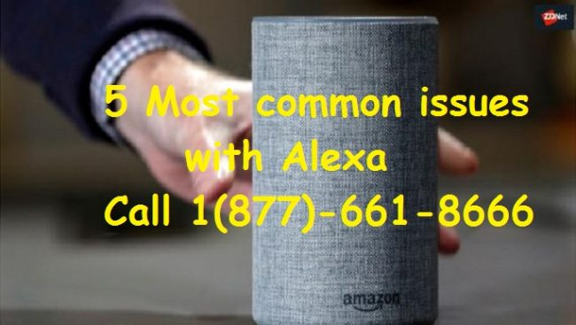 5 most common issues with alexa
