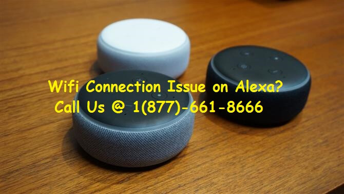 Fix WiFi connection issue on Alexa