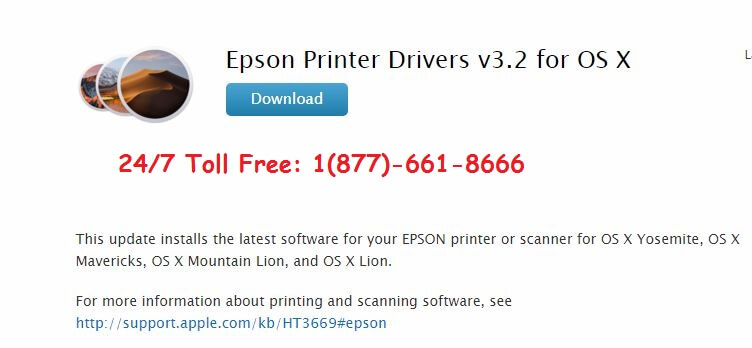 Download Epson Printer Drivers for Mac