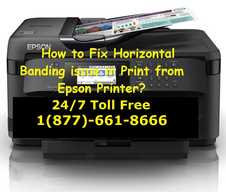 Fix Horizontal Banding issue in Print from Epson Printer