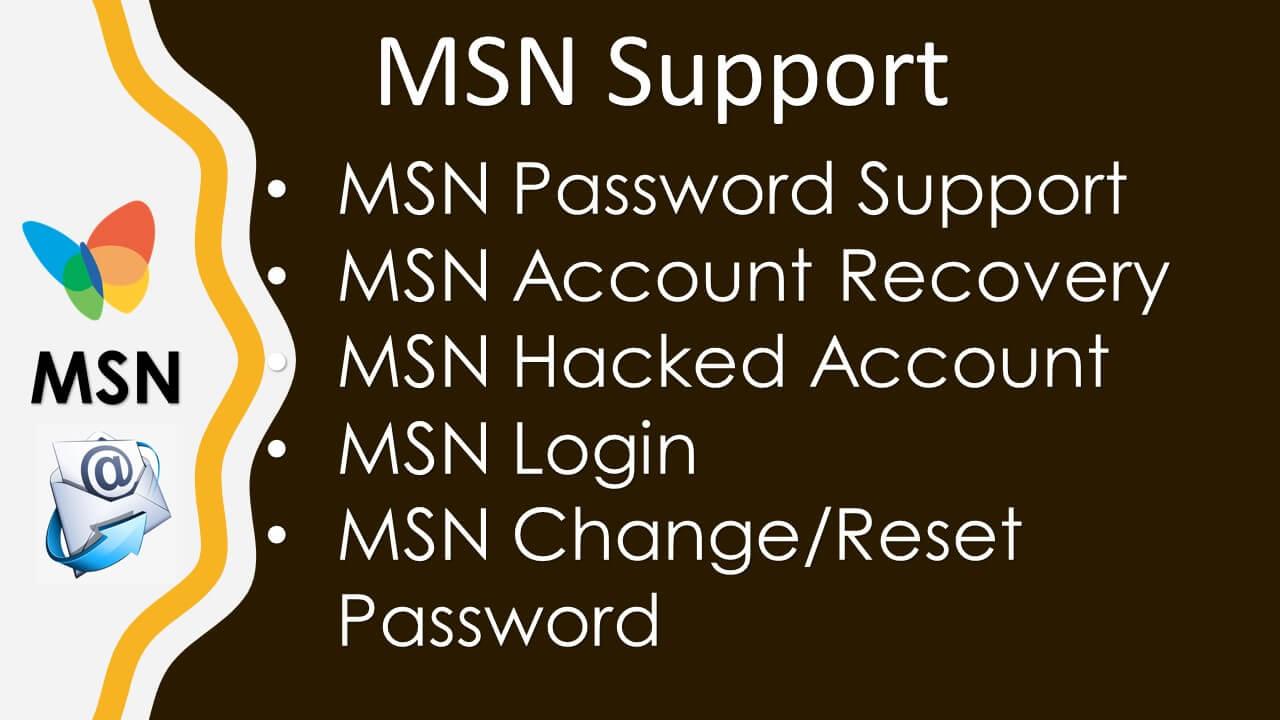 MSN Support Number 1-877-661-8666