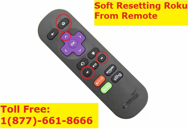 Soft Resetting Roku from Remote