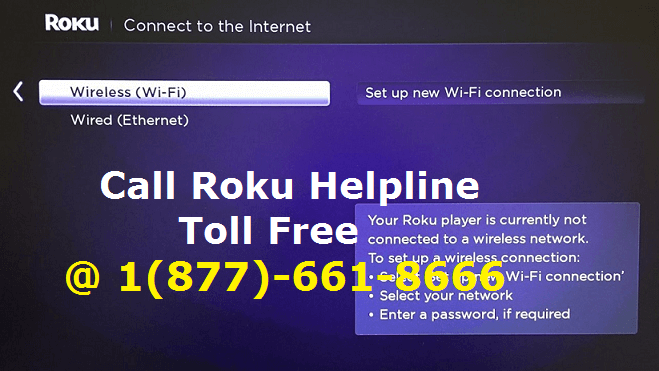 Connect Roku to a WiFi internet Connection