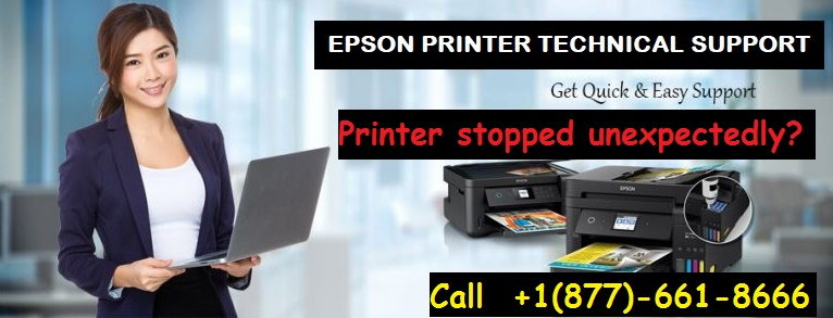 Epson Printer stops printing unexpectedly