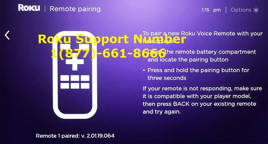Roku Enhanced Remote not working